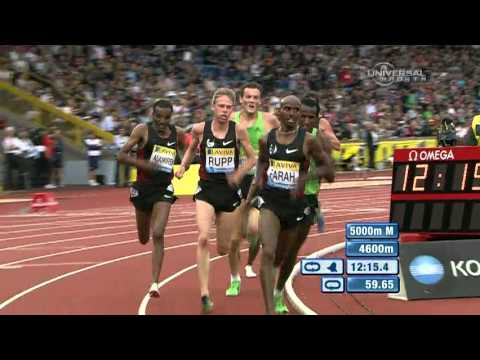 Mohammed Farah beats Merga in 5000m - from Universal Sports