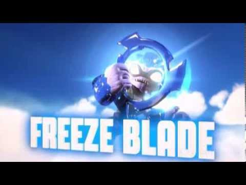 skylanders coloring pages freeze blade - photo#34
