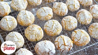AMARETTI BISCUITS | How to Make Almond Amaretti Cookies