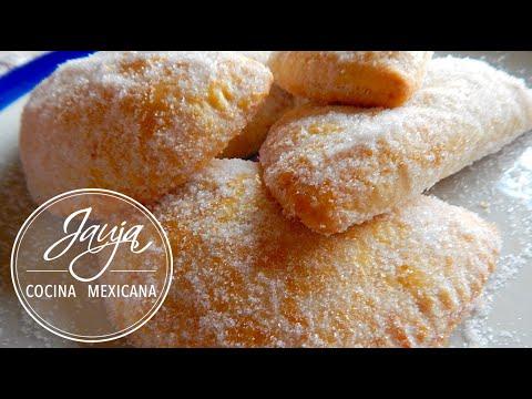 Empanadas Dulces de Piña, Manzana y Camote