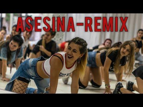 Asesina Remix - Brytiago / Darell / Daddy Yankee / Ozuna / Anuel AA - Coreografia Por Camila Botana