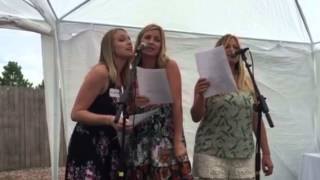 Daughters write and sing birthday song for Dads 60th