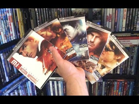 Mission Impossible 1-5 4K BLU RAY REVIEWS + Unboxing