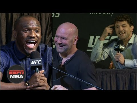 UFC 235 press conference highlights   ESPN MMA