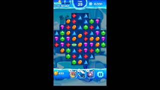 Jewel Pop Mania:Match 3 Puzzle Level 28 ( Jewel Ice Episode ) - Walkthrough ( No Booster ) screenshot 1