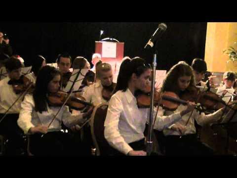 """Santa Plays the Viola"". Metropolitan Youth Symphony, Mesa, AZ. Christmas Concert 2010"