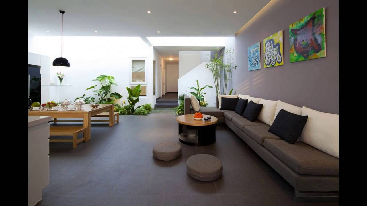 A Fresh Home With Open Living Area Internal Courtyard Youtube