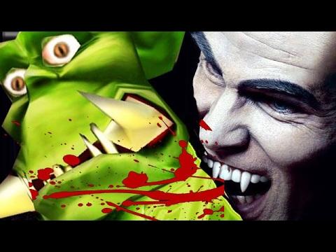 Беспощадная игра в Вампиров Warcraft 3