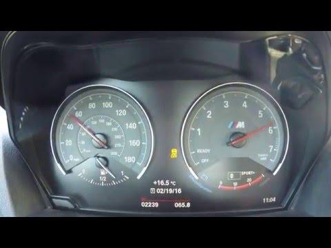 BMW M2 0-60 mph/0-100 kph acceleration