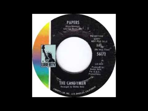 """RARE GROOVE: """"Papers"""" - The Candymen (1970)"""