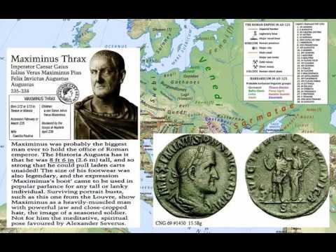 Roman History 22 - Alexander To Decius 222-251 AD