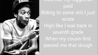 Paradise - Berner ft Wiz Khalifa (Lyrics on screen)