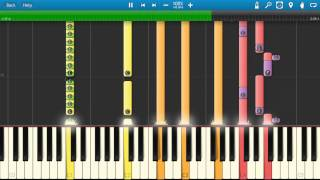 Glenn Frey - The Heat Is On Piano Tutorial - Synthesia