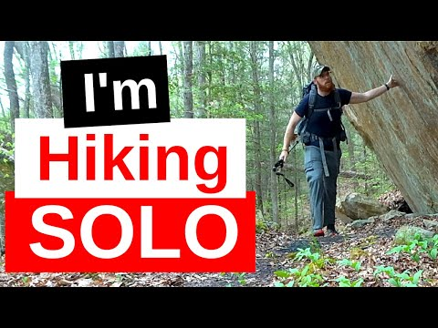 Are You Lonely Yet? | First Solo Hiking Trip (Yahoo Falls Loop Trail - Whitley City, KY)