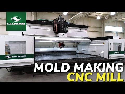 5-Axis CNC Milling Center for Aluminum Mold Machining - The CH-Series from C.R. Onsrud
