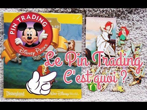 Le Pin Trading c'est quoi? (Collectionner les pin's Disney) ♥