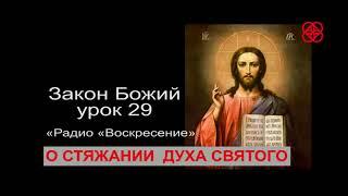 Что меняется в естестве человека при крещении  Закон Божий урок 29