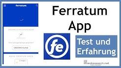 Ferratum Bank Mobile App - Test und Erfahrung - So sieht Ferratum Mobile von innen aus