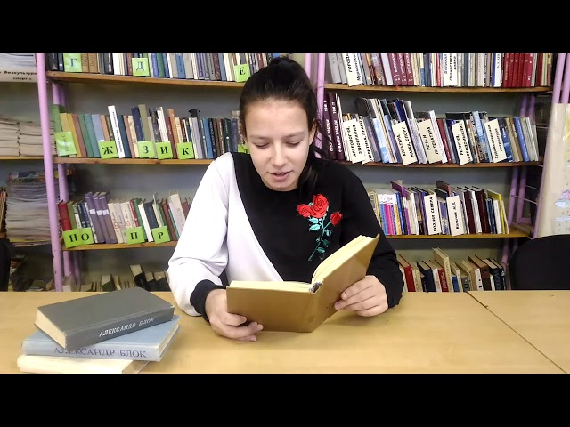 Изображение предпросмотра прочтения – ТатьянаРаспономарева читает произведение «Полный месяц встал над лугом» А.А.Блока