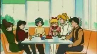 Sailor Moon funny clip Rini has a boyfriend?!
