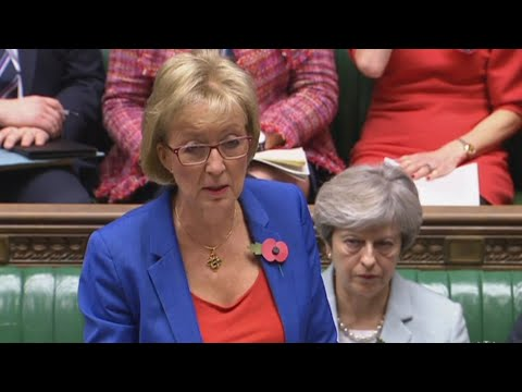 Andrea Leadsom outlines new approach to tackle sexual harassment