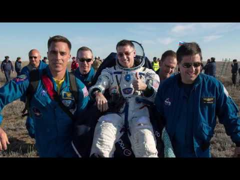 Shane Kimbrough Talks about Mission to Space