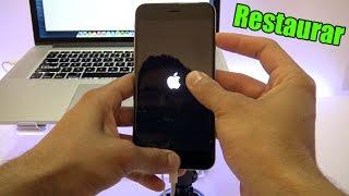 Como Restaurar Iphone 6, 5s, 5c, 5, 4s, 4, iPad, iPod Touch, iPad Air, Resetear iPhone