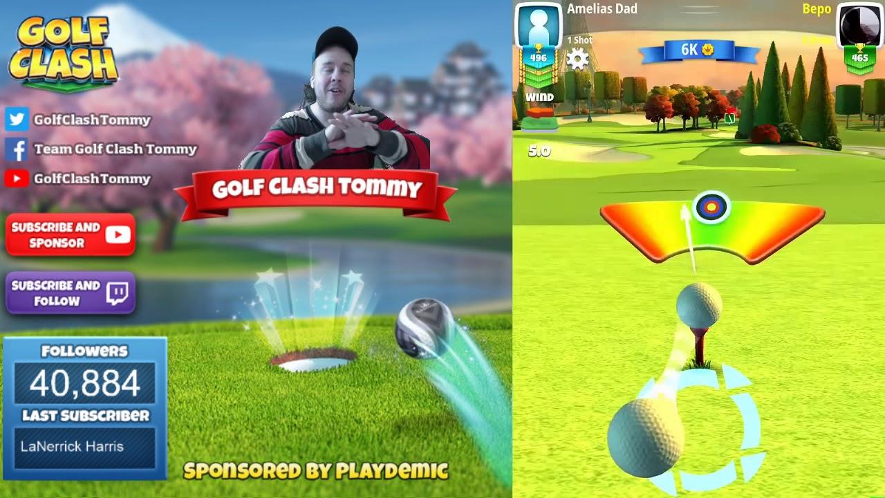 Golf Clash Tips Hole 1 Par 4 Parc De Paris Skyline Cup Tournament Rookie Guide Youtube