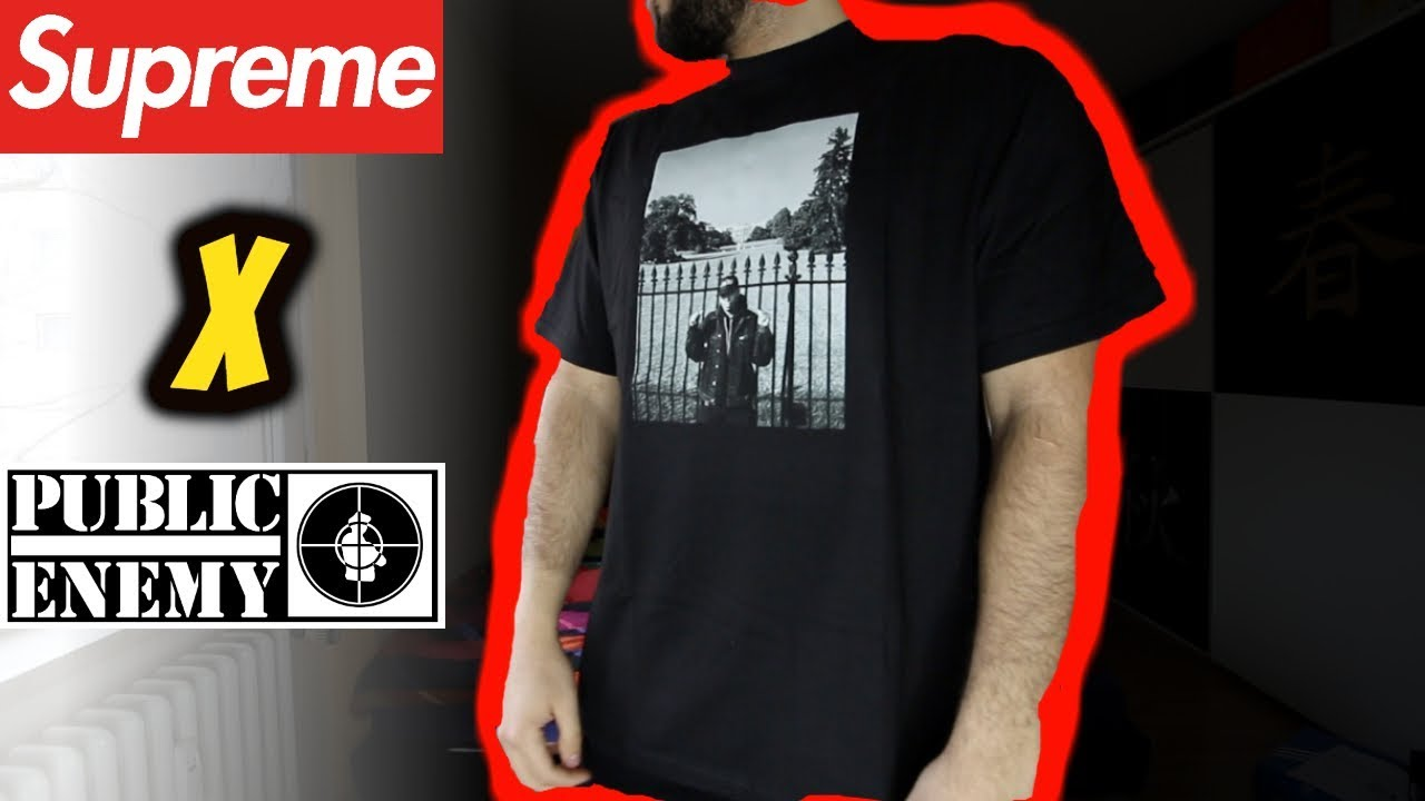 21398d48 Supreme®/UNDERCOVER/Public Enemy White House Tee REVIEW/UNBOXING ...