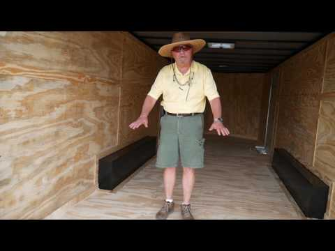 8.5x24 Enclosed Trailer
