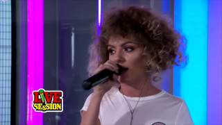 Alexandra Stan 9 Lives LIVE On Radio ProFM