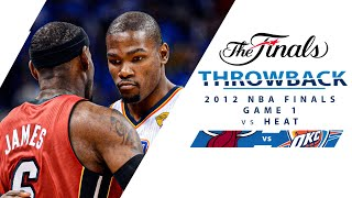 Kevin Durant Takes Over In 2012 NBA Finals Game 1 vs Heat | Full Classic Game - 6.12.12
