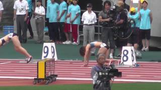 日本陸上 Women 200m 決勝 Final Track Athletics 2013.6.9