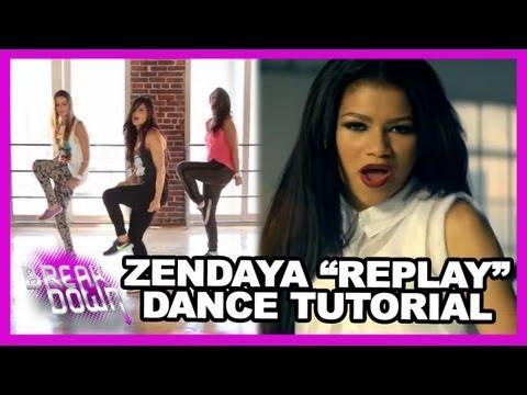 "Zendaya ""Replay"" Inspired Dance Tutorial w/ Courtney Galiano - Clevver Breakdown"