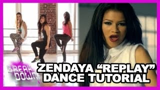 "Zendaya ""Replay"" Inspired Dance Tutorial w/ Courtney Galiano - Clevver Breakdown"