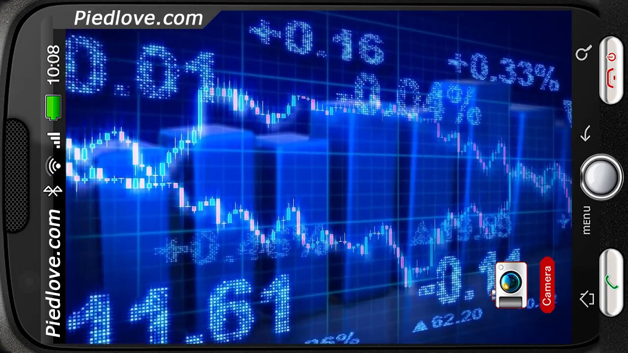 stock market ticker tape deluxe hd edition 3d live wallpaper for