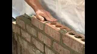 Brick Masonry Techniques for Builders - Tooling Mortar Joints