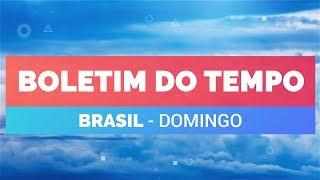Previsão Brasil - Condições pra chuva aumentam no RS