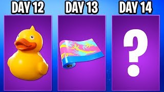 14 DAYS OF SUMMER FINAL REWARD LEAKED - ALL 14 Days Of Summer Rewards (FREE REWARDS In Fortnite)