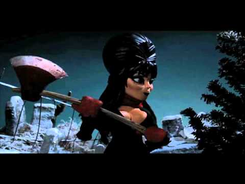 Elvira's Scary Christmas - YouTube