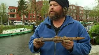 Groninger magneetvisser vindt oude antitankmijn