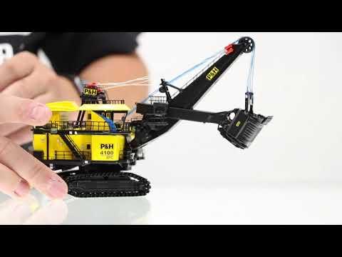 P&H 4100 XPC   1:160 Scale