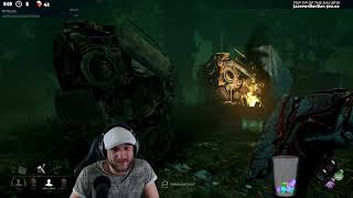 Dead by Daylight RANK 1 HUNTRESS! - FULL 4 MAN SWF FAIL BULLY ATTEMPT!