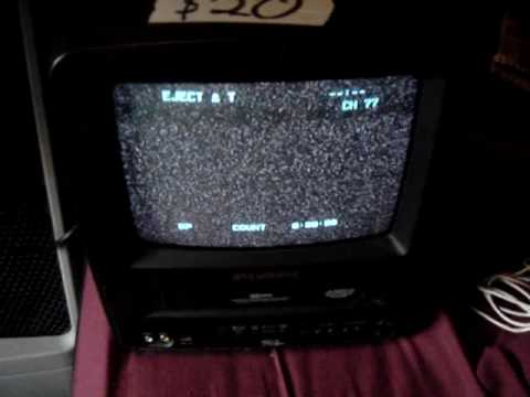 tv vcr combo new. sylvania tv vcr combo exploding, fireworks! - youtube tv vcr new m