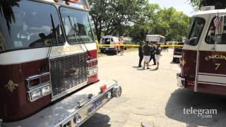 Worcester Hazmat team respond to possible suicide attempt
