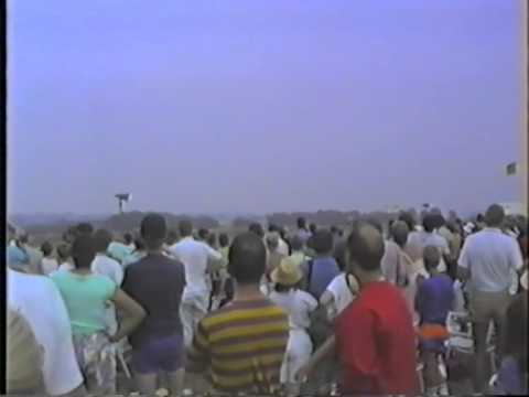 Highlights of Leicester Interational Airshow Air Display 1990  Stoughton