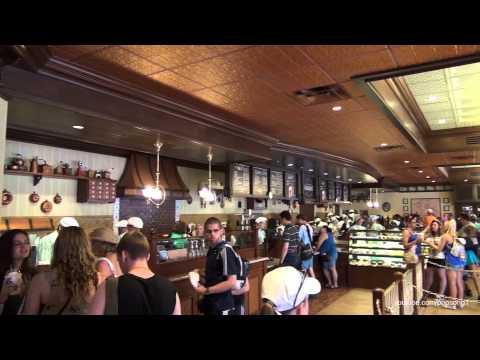 New Main Street Bakery Serving Starbucks Magic Kingdom Walt Disney World