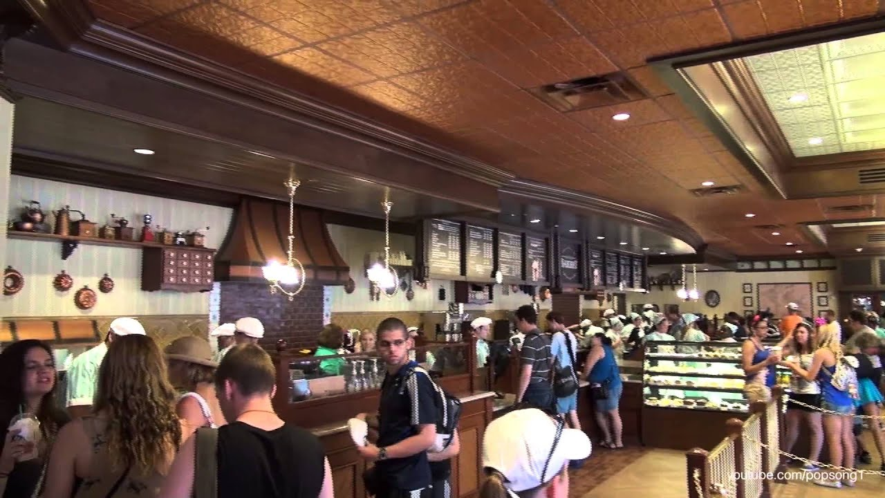 New Main Street Bakery Serving Starbucks Magic Kingdom Walt Disney