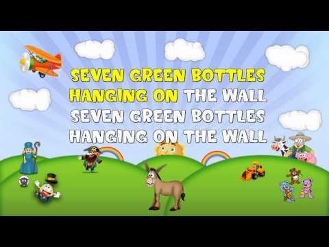 Ten Green Bottles Sing 2 Me Nursery Rhyme Karaoke