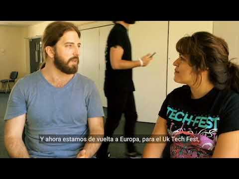 Simon Girard interview at Uk Tech Metal Fest 2017